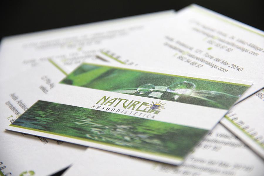 NatureLife Herbodietética | Tarjetas de visita